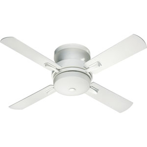 Davenport Three-Light Studio White 52-Inch Ceiling Fan