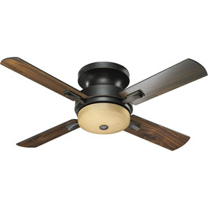 Davenport Three-Light Old World 52-Inch Ceiling Fan