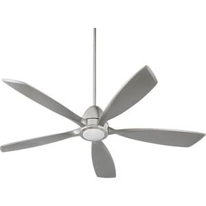 Holt Satin Nickel 56-Inch LED Ceiling Fan