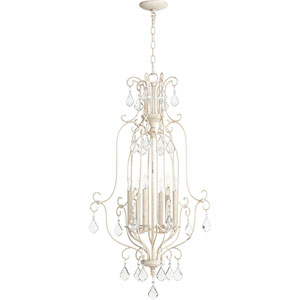 Ariel Persian White Six-Light 21-Inch Pendant