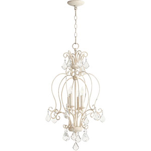 Ariel Persian White Four-Light 15-Inch Pendant