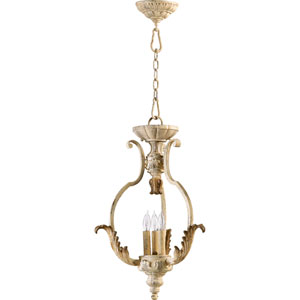 Florence Persian White Three-Light Pendant