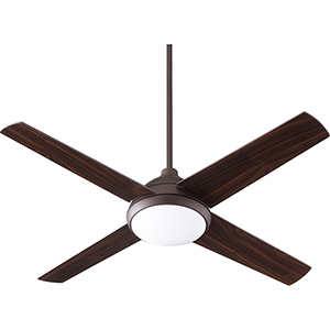 Quest Oiled Bronze LED 52-Inch Ceiling Fan