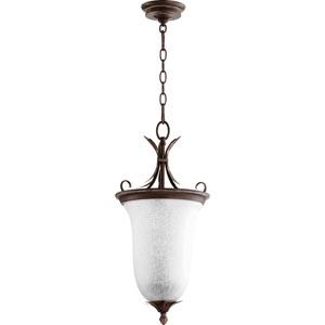 Flora Vintage Copper 10.5-Inch Two-Light Pendant