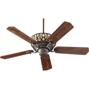 Cimarron Oiled Bronze Six Light Five Blade Ceiling Fan