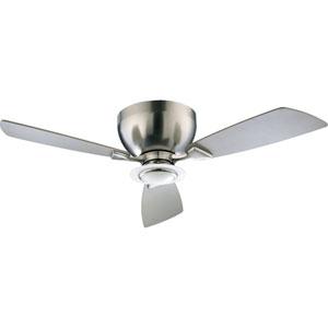 Nikko One-Light Satin Nickel 44-Inch Ceiling Fan