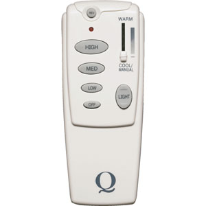White Ceiling Fan Remote Control