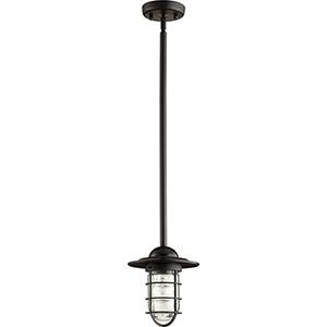 Bowery Noir One-Light 7.5-Inch Mini Pendant