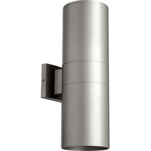 Architectural Graphite 6-Inch Two-Light Outdoor Wall Mount