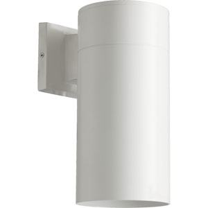 Architectural Studio White 6-Inch One-Light Outdoor Wall Mount