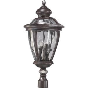 Sloane Five-Light Baltic Granite Outdoor Post Light