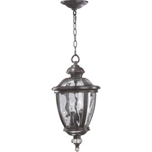 Sloane Three-Light Baltic Granite Outdoor Pendant