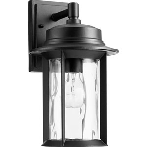 Charter Noir One-Light 8-Inch Outdoor Wall Mount