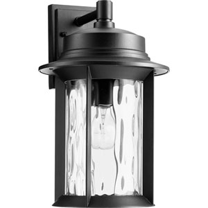 Charter Noir One-Light 10-Inch Outdoor Wall Mount