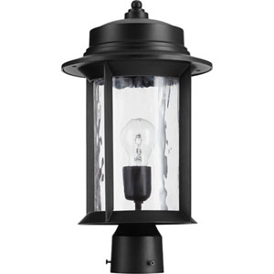 Charter Black One-Light 10-Inch Outdoor Post Light