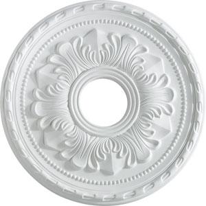 Studio White 17-Inch Ceiling Medallion