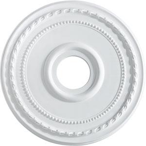 Studio White 17.5-Inch Ceiling Medallion