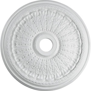Studio White 27-Inch Ceiling Medallion