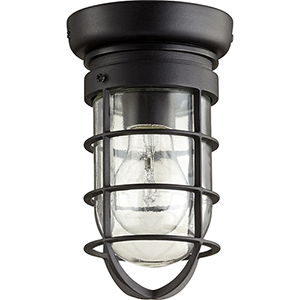 Bowery Noir One-Light 4.5-Inch Ceiling Mount