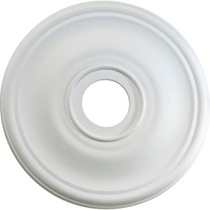 Studio White 24-Inch Ceiling Medallion Light