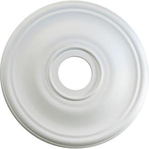 Studio White 24-Inch Ceiling Medallion Light