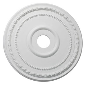 Studio White 24-Inch Ceiling Medallion