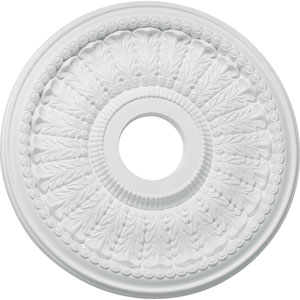 Studio White 18-Inch Ceiling Medallion