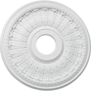 Studio White 30-Inch Ceiling Medallion Lighting