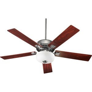 Rothman Two-Light Satin Nickel 52-Inch Ceiling Fan