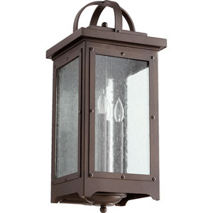 Riverdale Oiled Bronze Four-Light Outdoor Wall Mount