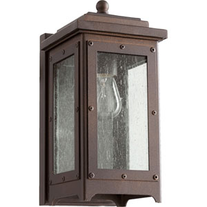 Riverdale Oiled Bronze One-Light Outdoor Wall Mount