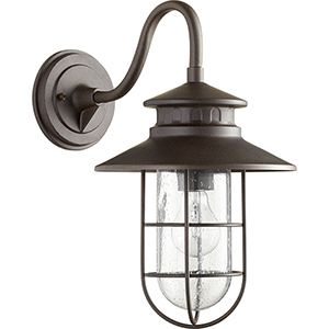Moriarty Oiled Bronze One-Light 9.5-Inch Outdoor Wall Sconce