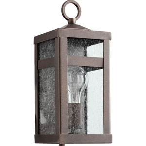 Clermont Oiled Bronze One-Light Outdoor Wall Mount