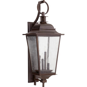 Pavilion Oiled Bronze Four-Light 14-Inch Outdoor Wall Mount
