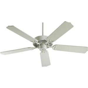 Capri Antique White 42-Inch Without Blades Ceiling Fan