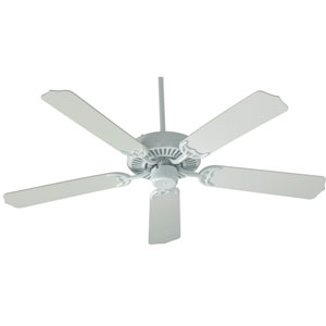 Capri White 42-Inch Five Blade Ceiling Fan