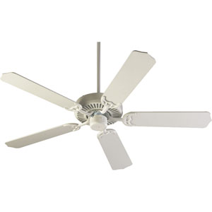 Capri Studio White Energy Star 52-Inch Ceiling Fan