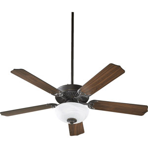 Capri Two-Light Old World 52-Inch Ceiling Fan
