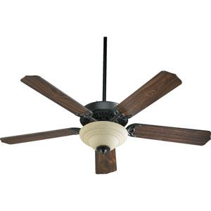 Capri Two-Light Old World 52-Inch Ceiling Fan