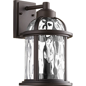 Winston Oiled Bronze Three-Light 8.75-Inch Outdoor Wall Sconce