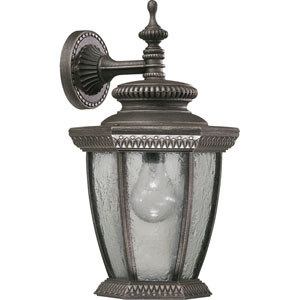 Baltic Large Down One-Light Baltic Granite Outdoor Wall Light