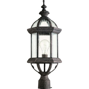 Stelton Baltic Granite 24.25-Inch One Light Outdoor Post Lantern