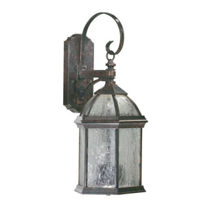 Weston Timberland Granite Three-Light Outdoor Wall Lantern