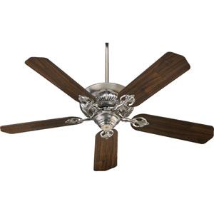 Chateaux Satin Nickel Energy Star 52-Inch Ceiling Fan