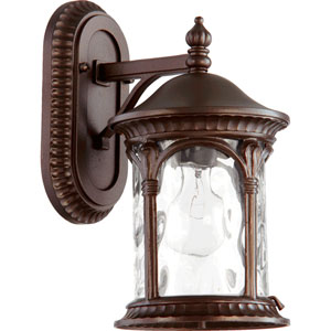 Riviera Oiled Bronze 6.5-Inch One-Light Outdoor Wall Mount