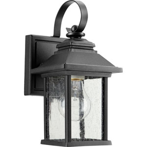 Pearson Noir One-Light 5-Inch Outdoor Wall Mount