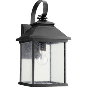 Pearson Noir One-Light 9-Inch Outdoor Wall Mount