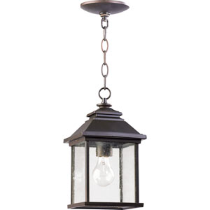 Pearson One-Light Oiled Bronze Outdoor Pendant