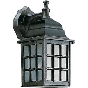 Thomasville One-Light Black Outdoor Wall Light