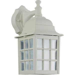 Thomasville One-Light White Outdoor Wall Light